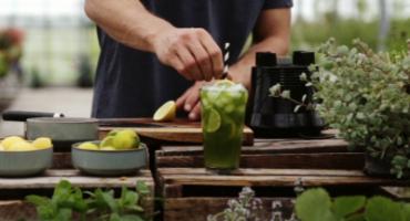 Gin og Basilikumdrink
