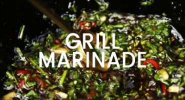 Grillmarinade med Greenify