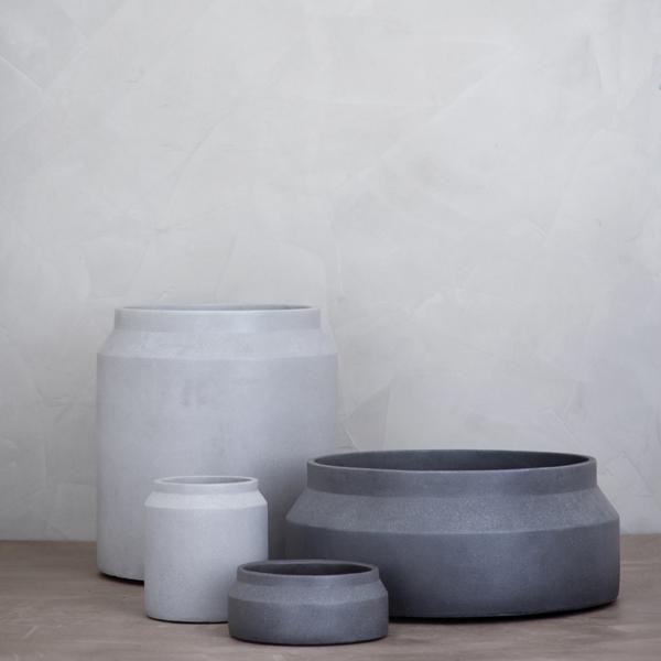 Ferm Pot - Light and Dark Grey