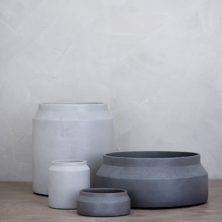 Ferm Pot - Light and Dark Grey