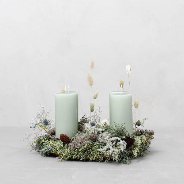 Naturlig adventskrans fra Greenify