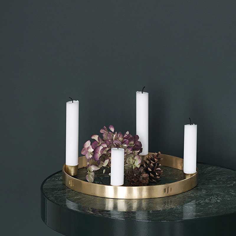 Ferm Candle Holder Circle Small fra Greenify
