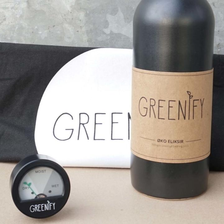 Plantepleje pakke fra Greenify