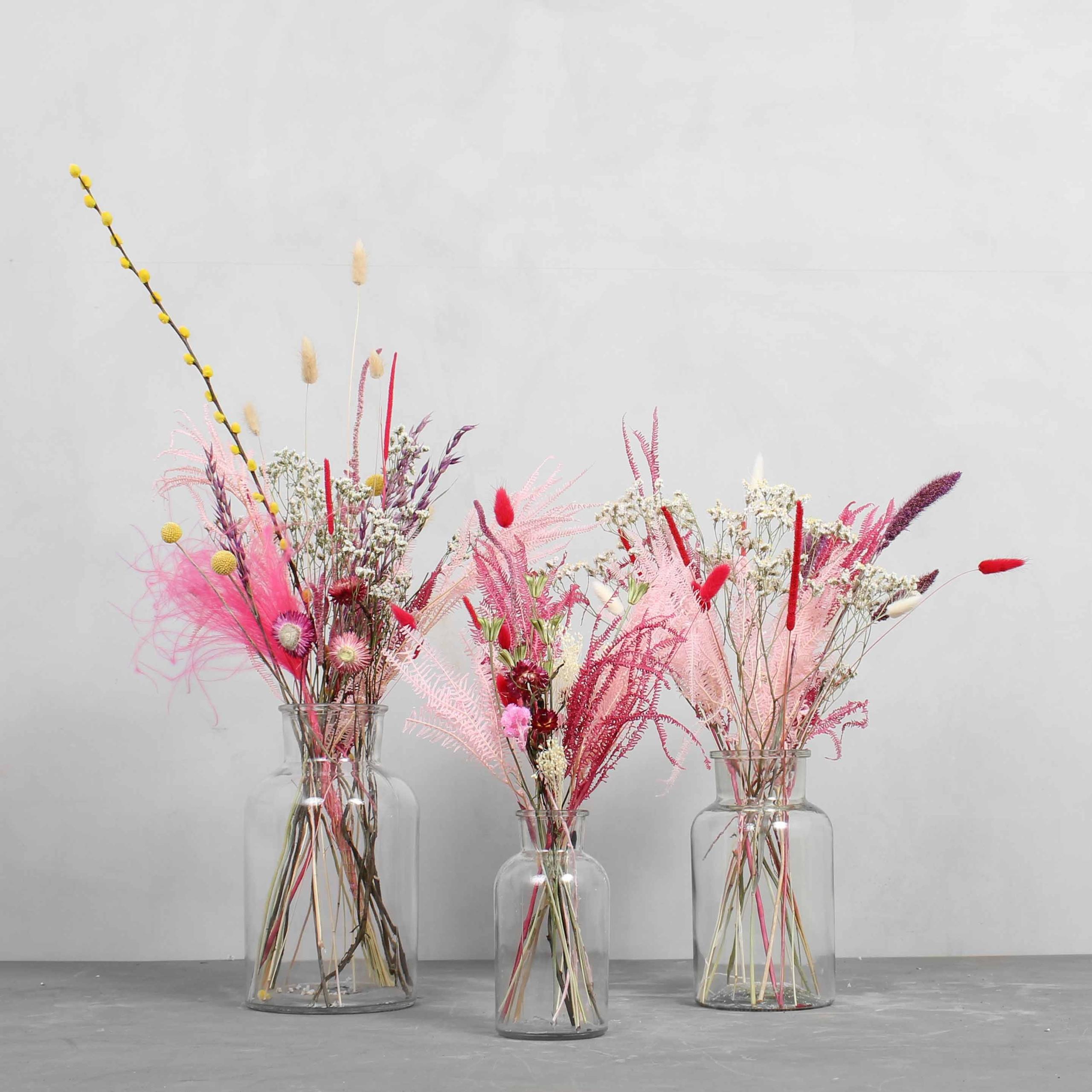Toerrede blomster buketter