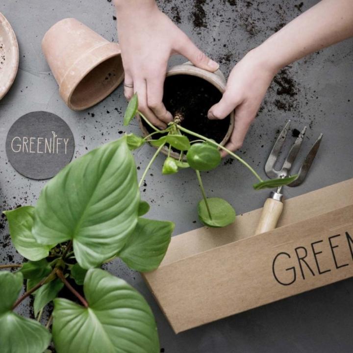 Pottemuld fra Greenify