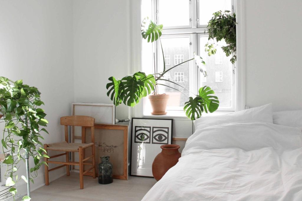 Hjemme hos Lasse - soveværelse